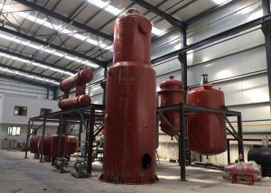 China Durable Waste Oil Distillation Equipment With Stainless Steel / Carbon Steel Material on sale