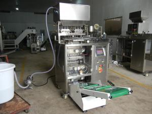 China 8 Lines Sauce Vertical Packing Machine Full Automatic For Making Four Sides Sealing Bag on sale