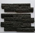 Black Diamond Quartzite Thin Stone Veneer,Quartzite Culture Stone,Black Stone Panels,Quartzite Ledgestone,Stone Cladding