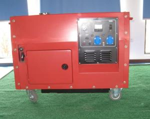 China 4.5KW Portable Silent Diesel Generator Set 1Phase 50HZ Gasoline Fuel on sale