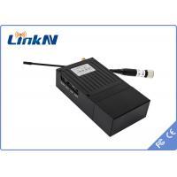 300~900Mhz Long Range Video Transmitter , Mini wireless video transmitter COFDM DVB - T