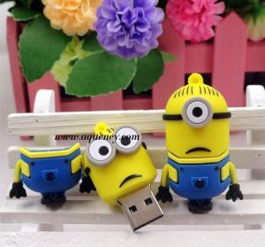 China Cute design Cartoon minion usb flash drive for Despicable Me USB on sale