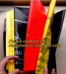 Plastic pe medical biohazard waste bag, PE plastic Yellow medical waste bags roll biohazard infectious waste bag