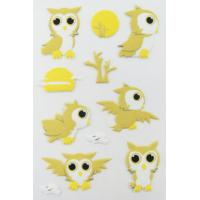 China Printable Birds Puffy Animal Stickers For Kids Gifts Custom Eco Friendly on sale