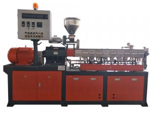 China PE ABS PA PBT Master Batch Manufacturing Machine 30-50kg/H Capacity 600 RPM Torque on sale