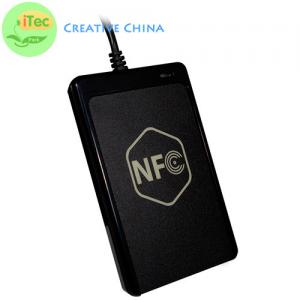 China PC and Mobile NFC Card ReaderHi-Speed PC And Mobile NFC Card Reader With Sam Slot on sale