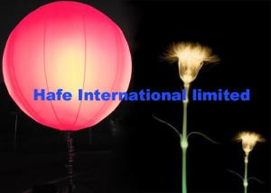 China Dimmable Pink Blue RGBW Inflatable LED Light With Durable DMX512 Controler on sale
