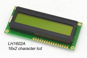China Digital 16 X 2 Monochrome LCD Display Blue Negative For Printer , Scanner on sale