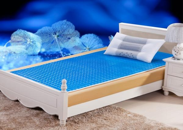 Memory Sleepwell Cooling Gel Bed Pad Cycling Cleanable Bed Pad for