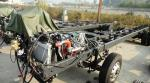 LHD/RHD Dongfeng 12m EUROIV front CUMMINS Engine bus chasiss