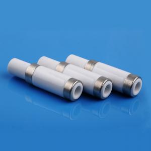 China High Bonding Strength  Metallized Ceramic Tube , Ceramic Feedthrough Insulator on sale