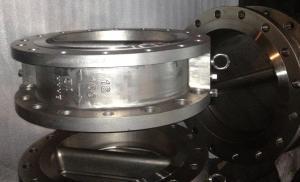 China LF2 Body Wafer Lug Check Valve , Dual Plate 24 Inch Check Valve 600lb NBR O-Ring on sale