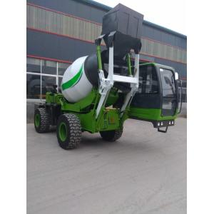 Quality 2.6 Cubic Meters Concrete Mixer Truck , Maximum grade 30° CE ISO for sale