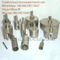 China Electroplated Diamond Core Drill Bits for glass, crystal, fiberglass miya@moresuperhard.com on sale