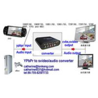 YPbPr to svideo& video converter,  YPbPr to rca& cvbs converter