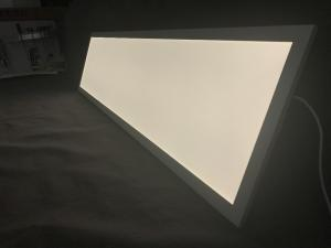 China 300x1200 Rectangle Ceiling LED Panel Light 100 Lm / W Cable Hanging For Decoractio on sale