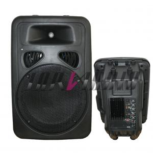 China 8 inch Plastic PA Cabinet Speaker , Digital Active / Passive Speakers on sale