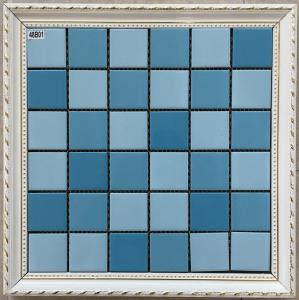 Pure Multi Color Ceramic Mosaic Tile Modern Design For Hotel Sports - Colored ceramic tiles for sale