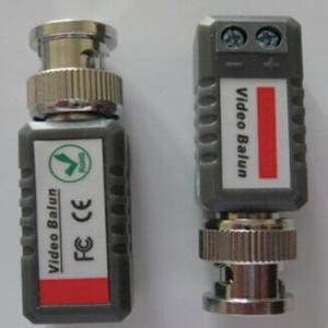 China CCTV Video Balun Coaxial BNC to UTP Cat5/6 Cable Connector for CCTV Camera on sale