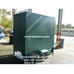 Máquina decoloración del aceite del purificador de aceite del aislamiento/de la purificación y de la filtración móviles de aceite