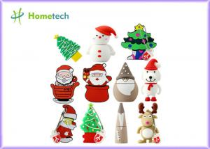 China Genuine Christmas Gift Customized USB Flash Drive 64GB High Speed on sale