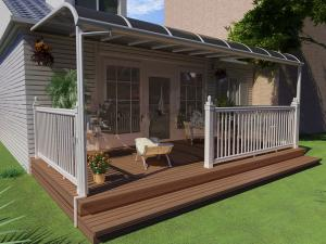 solar terrace cover/shelter outdoor in front door garden & solar terrace cover/shelter outdoor in front door garden for sale ...