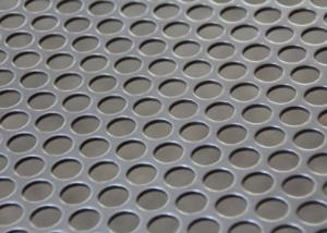 China Round Holes Stainless Steel Perforated Metal Sheet For Water / Oil / Air Filtration on sale