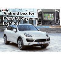 GPS car navigation box video interface for 10-16 Porsche PCM 3.1 cast screen