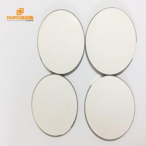 China Lead Free Piezoelectric Ceramic Materials , PZT-4 Piezoelectric Ceramic Discs on sale