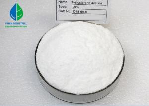 China 99% Anabolic Raw Steroid Hormone Powder Test Acetate / Testosterone Acetate (1045-69-8) on sale