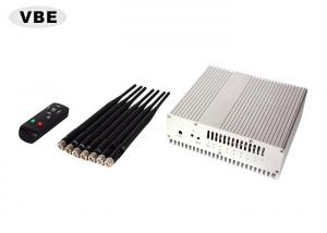 China 16W Wifi GPS Cell Phone Signal Jammer Remote Control Large Frequency Ranges on sale