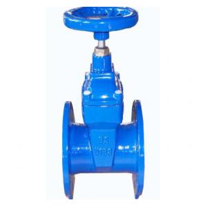 China Soft Wedge Resilient Seated 10 Inch Gate Valve With SS316 Spindle For Chemical on sale