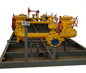 China Automatic Gas Pressure Regulating Station Natural Gas Production Equipment on sale