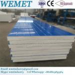EPS fire proof insulated wall panel for steel warehouse, prefabricated hosue