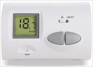 China Non-programmable Room Air Conditioner Thermostat With 2*AA Size Battery on sale