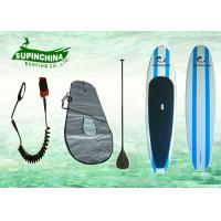 Epoxy Paddle boards provides enough glide for flat water cruising good stability for catching waves