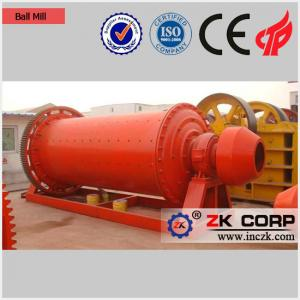 China Overflow Ball Mill Suppliers / Ball Mill With Overflow Ring for Sale on sale
