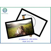"""16:9 COB Type ILITEK Controller, 21.5"""" USB Projected Capacitive Touch Screen For Industrial Touch Monitors"""