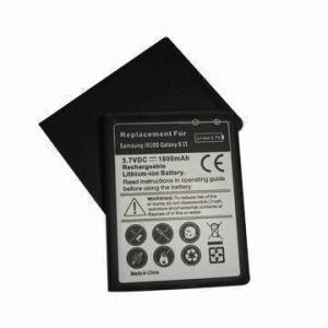 China Li-ion Mobile Phone Battery for Samsung Galaxy S II (i9100), Standard 1800mAh on sale