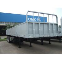 Professional Truck Container Transport Trailer High Fence To Carry Goods