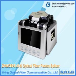 China Factory direct sale DHL/EMS AI-6 SM&MM Automatic FTTH Fiber Optic Splicing Machine Optical Fiber Fusion Splicer on sale