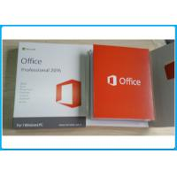 Genuine Key Microsoft Office 2016 Professional Software Retailbox With USB office 2016 Home and business
