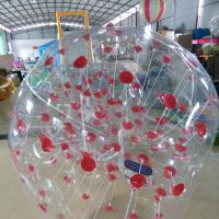 1.5M Transparent Human Inflatable Bumper Bubble Ball 1 year warranty