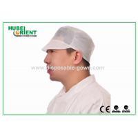 China Pp respirables fonctionnent les chapeaux chirurgicaux gonflants jetables pour la protection on sale