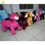 Hansel Wholesale stuffed animal ride electronic coin toys happy rides on animal