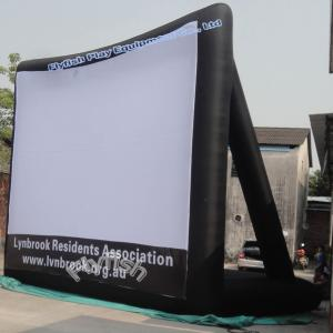 China inflatable projector screens on sale