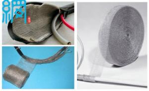 China Cable Wrapshield stainless steel knitted wire mesh for shielding on sale