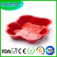 Large Bear Shaped Silicone Cake Baking Pan Bread Mold Soap Mould Silicon Cake Mold Tray