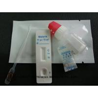High Accuracy Malaria Test Kits Urine Specimen Cassette Format CE ISO Certified
