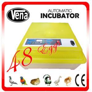 China Double color mini make chicken egg incubator VA-48 for sale on sale